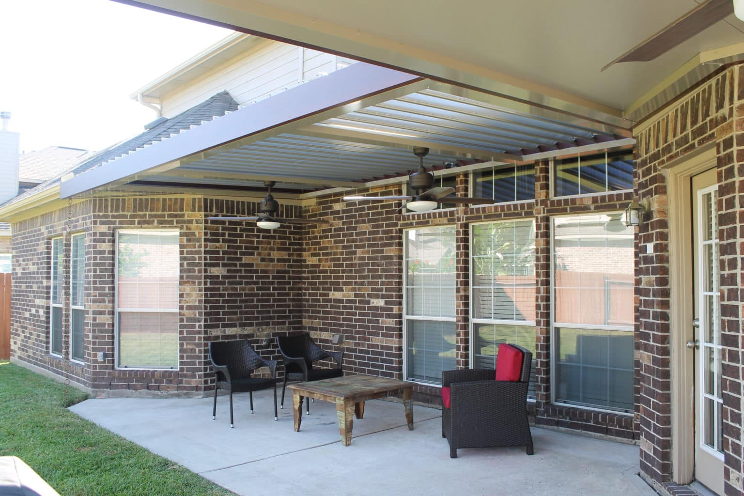 LOUVERED ROOF​